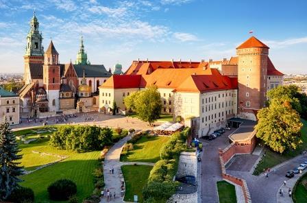 Castillo Wavel, Cracovia. Polonia