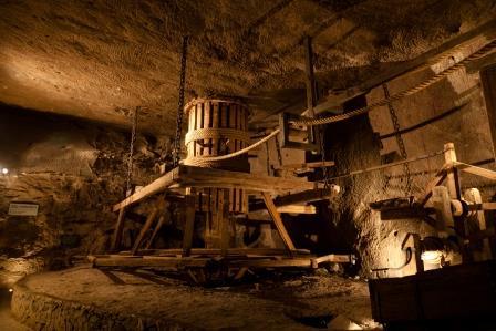 Wieliczka, mina de sal en Cracovia. Polonia